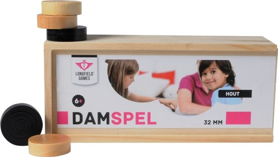 Longfield damstenen 30mm in Box