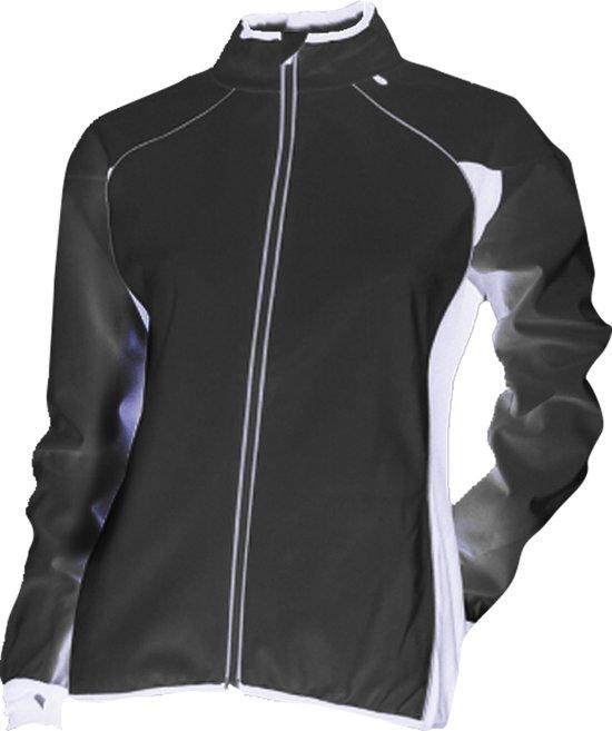 Rucanor Marla Jacket - Hardloopjas - Dames - Maat XL - Zwart