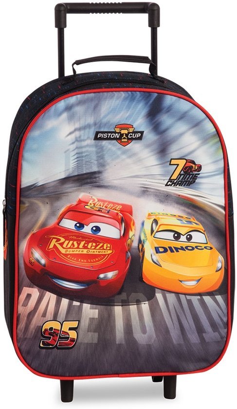 05cab003429 bol.com | Disney Cars Kinderkoffer Black