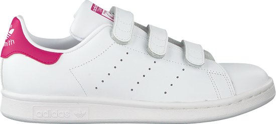 a72a8df2470 bol.com | Adidas Meisjes Sneakers Stan Smith Cf J - Wit - Maat 36