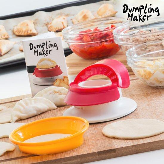 Fast & Easy Dumpling Maker Mal voor Empanadillas en Gevulde Pasta