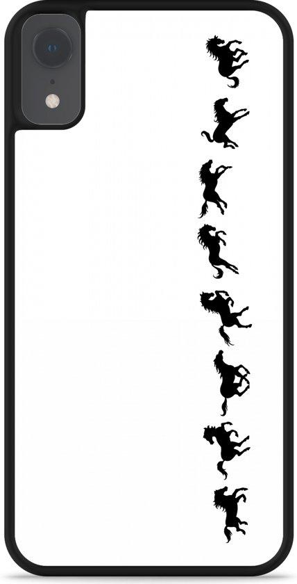 iPhone Xr Hardcase hoesje Horses in Motion