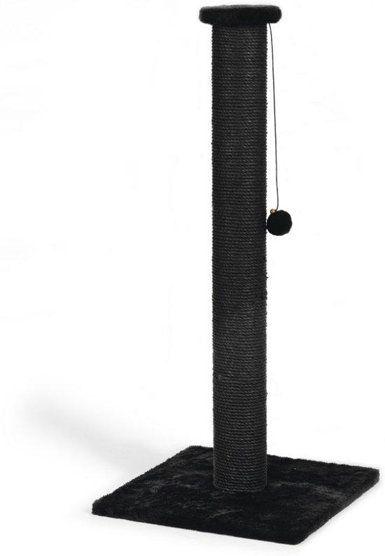Beeztees Serpa Krabpaal - Zwart - 40 x 40 x 90 cm