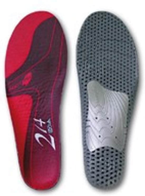 Sq lab insoles 214 low red 39 - 41 (m) inlegzool rood in Noordgouwe