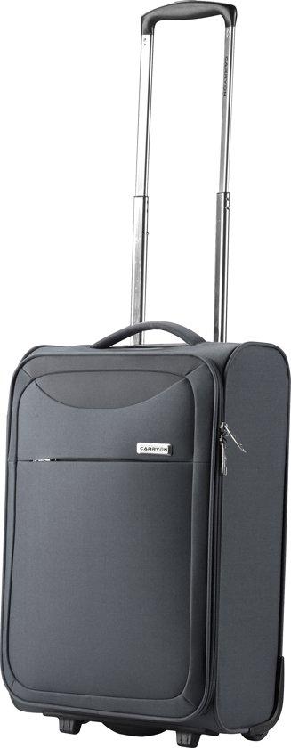 CarryOn Air Handbagagekoffer - Ultra lichte trolley 55cm handbagage - 2 wielen - Zwart