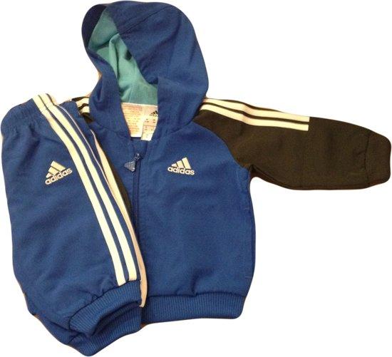 9bea20b1ddd bol.com   Adidas Baby Trainingspak - Maat 74 - Blauw/Navy