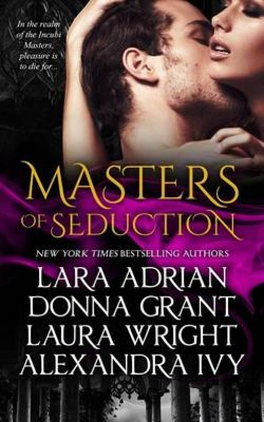 Boek cover Masters of Seduction van Lara Adrian (Paperback)
