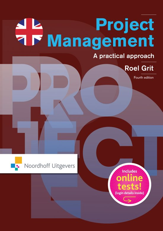Boek cover Projectmanagement (English edition) van R. Grit (Paperback)