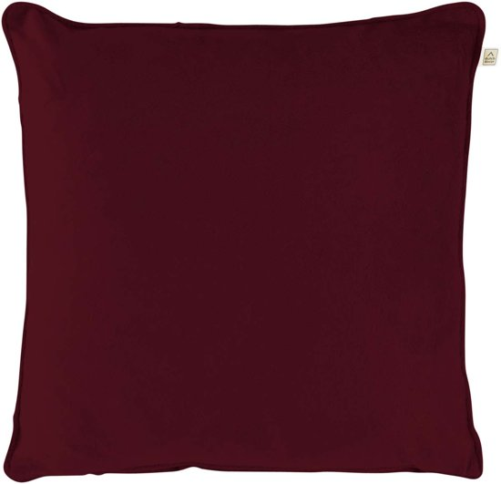 Dutch Decor Velvet Sierkussen - 45x45cm - Bordeaux
