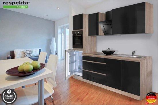 Respekta® keuken 'Stockholm' compleet incl. apparatuur, 270 cm.