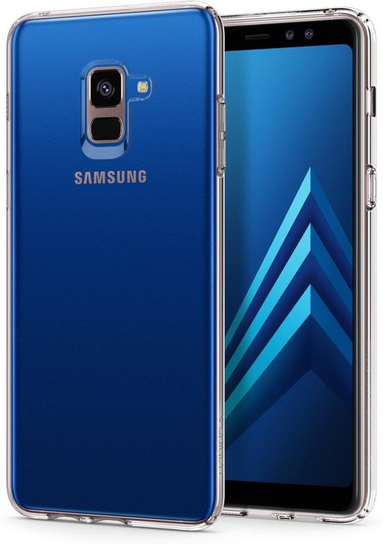 Spigen Liquid Crystal Case Samsung Galaxy A8 Plus (2018) - Crystal Clear