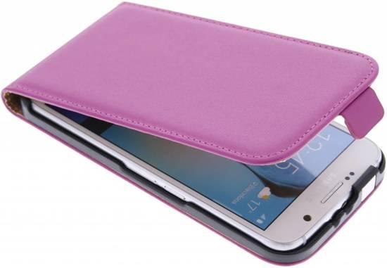Cas Flip Flip Cas De Luxe Pour Samsung Galaxy S6 - Poudre Rose hw8uyf4dI
