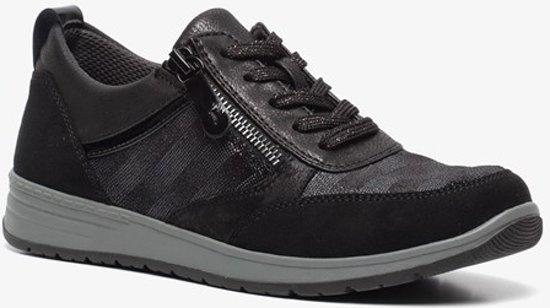 | Softline dames sneakers Zwart Maat 40