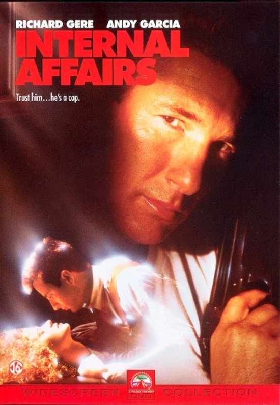 Cover van de film 'Internal Affairs'