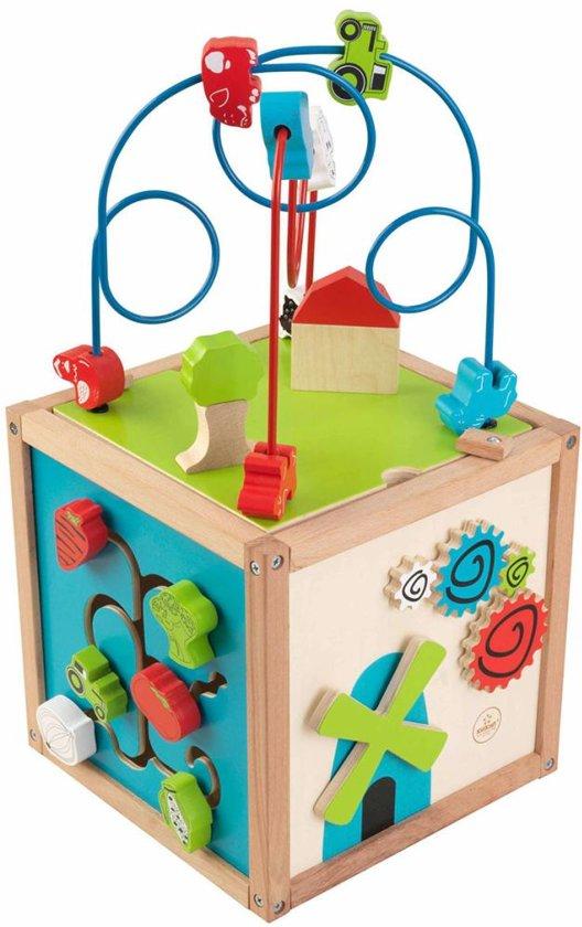 Afbeelding van KidKraft Kubus Met Kralenspiraal speelgoed