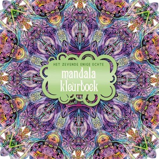 Mandala Kleurplaten Bestellen.Bol Com Het Zevende Enige Echte Mandalakleurboek 9789045320717