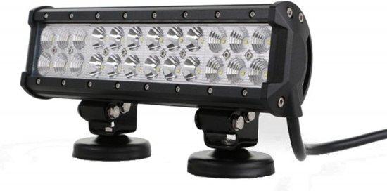 LED bar - 72W - 30,5cm - 4x4 offroad - 24 LED Combo - WIT 6000K