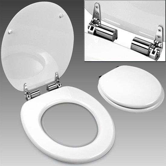 Favoriete bol.com | Toiletbril, toilet zitting, softclose, wc bril, wit PL14