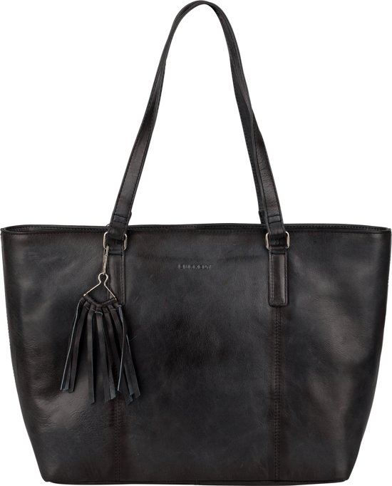 Leren damestas BURKELY Noble Nova Wide Shopper