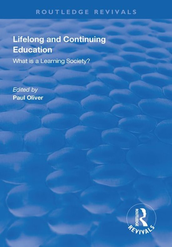 Lifelong and Continuing Education
