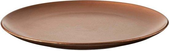 Ongekend bol.com   Grote platte schaal van hout 65 cm GO-29