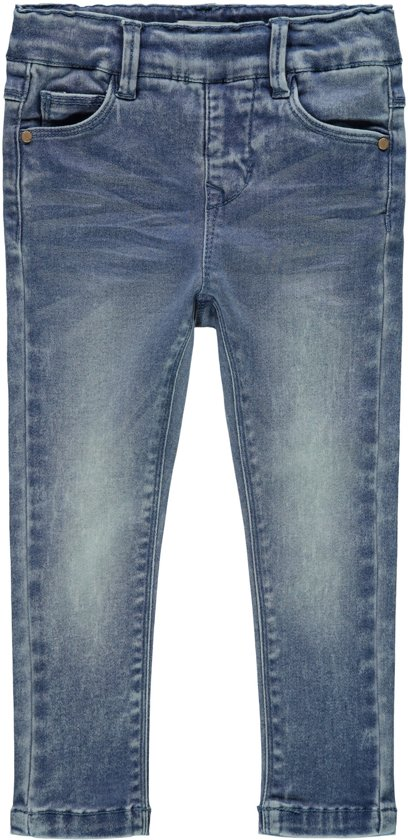 72e941e24531aa bol.com   Name it Meisjes Jeans - Medium Blue Denim - Maat 92