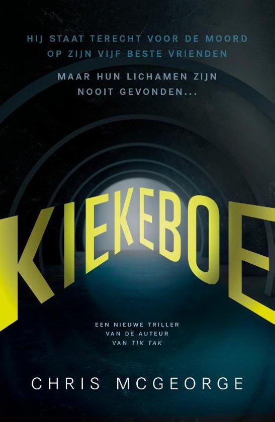 Boek cover Kiekeboe van Chris McGeorge (Paperback)