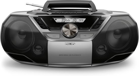 philips az790 radio cd speler zwart. Black Bedroom Furniture Sets. Home Design Ideas