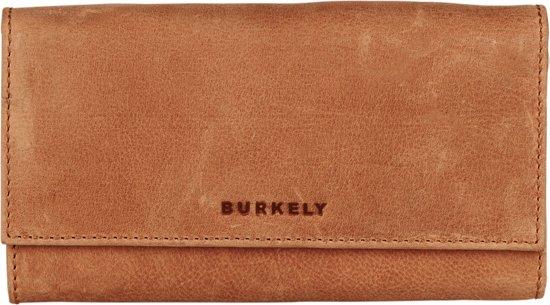 7598f1bbcae bol.com | BURKELY Magic Milou Wallet L - Portemonnee - Cognac