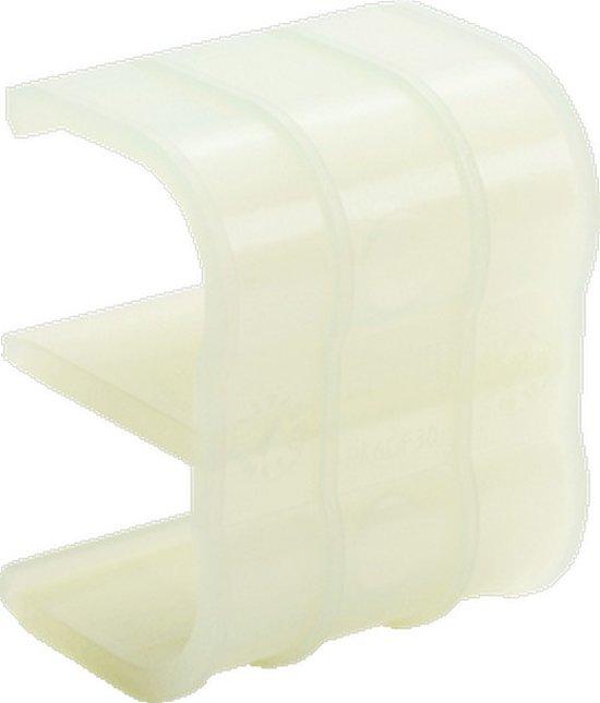 REH kabelbuisklem RAUSOLO, kunstst, transp, v/buisdiam 16 - 20mm