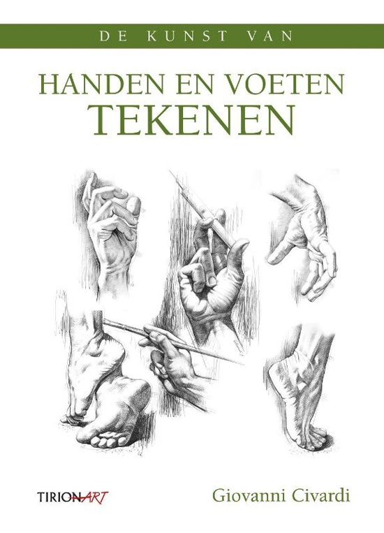 bol | de kunst van handen en voeten tekenen, giovanni civardi