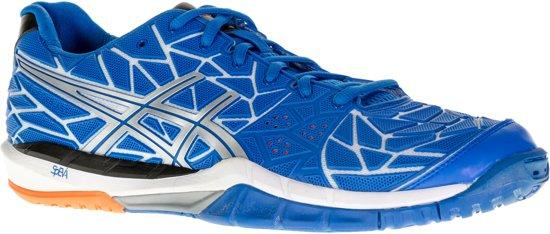 Asics Gel-Fireblast  Sportschoenen - Maat 44 - Mannen - blauw/zwart/wit