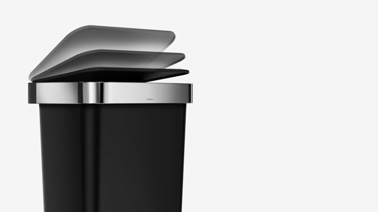 Simplehuman Rectangular Liner Pocket 45 Liter Grijs