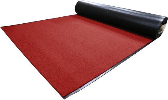 Tapijtkeuze Deurmat loper Suva-100 x 200 cm-Rood
