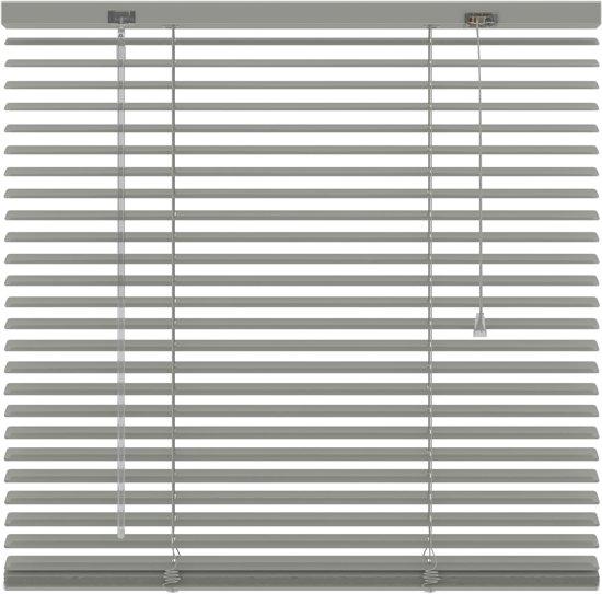 Aluminium jaloezieën 25mm - Donker grijs - 80x180 cm