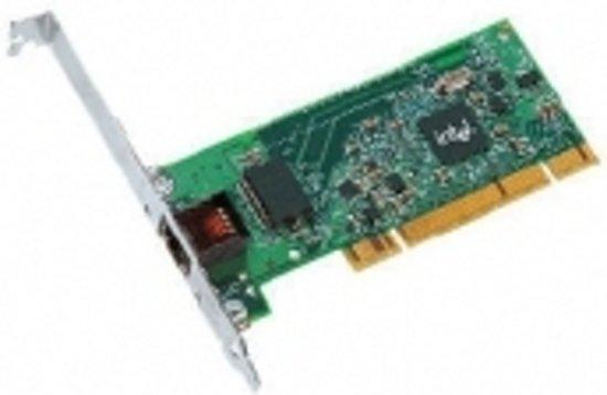 Intel PRO/1000 GT Low-Profile Gigabit kaart