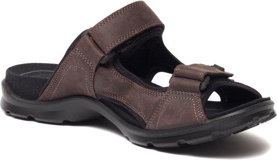 ECCO Utah leren heren sandalen