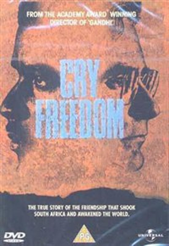 Cover van de film 'Cry Freedom'