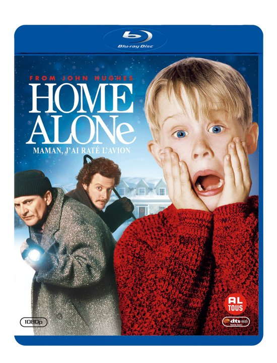 DVD cover van Home Alone (Blu-ray)