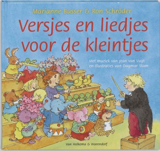 Cover van het boek 'Liedjes en versjes voor de kleintjes' van Ron Schröder en Marianne Busser