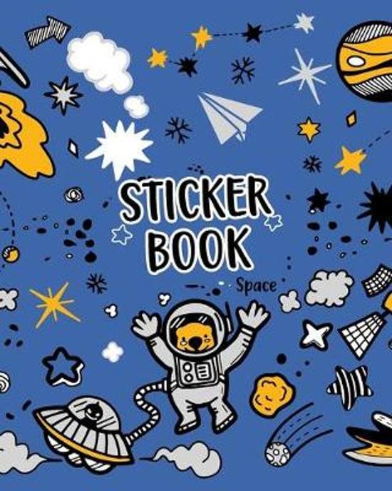 Sticker Book Space