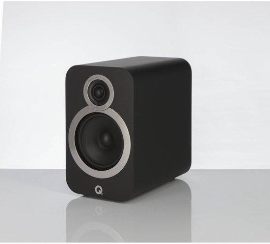 Q-Acoustics 3010i - Boekenplank Luidsprekers - Zwart ( per paar )