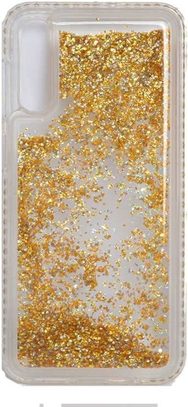 Teleplus Samsung Galaxy A50 Water Stone Silicone Case Gold