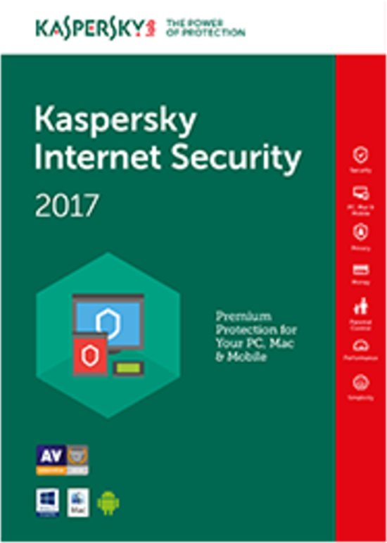 Kaspersky Internet Security Multi-Device 5-Devices 1 jaar verlenging