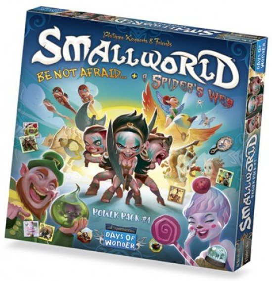 Small World Race Collection: Be Not Afraid & A Spider Web (Engelstalig)