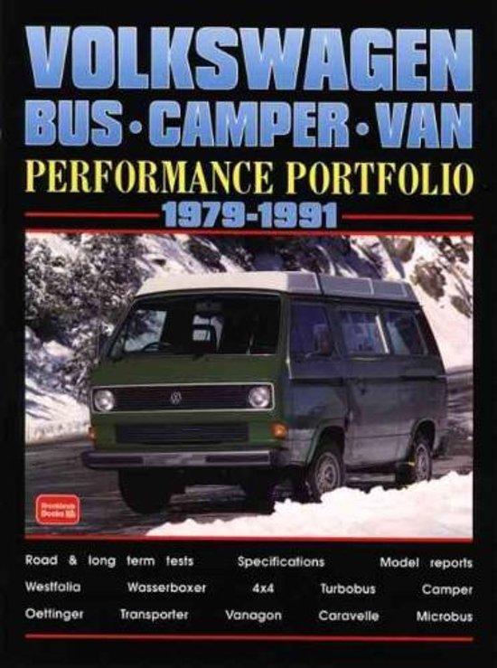 Volkswagen Bus, Camper, Van Performance Portfolio 1979-1991
