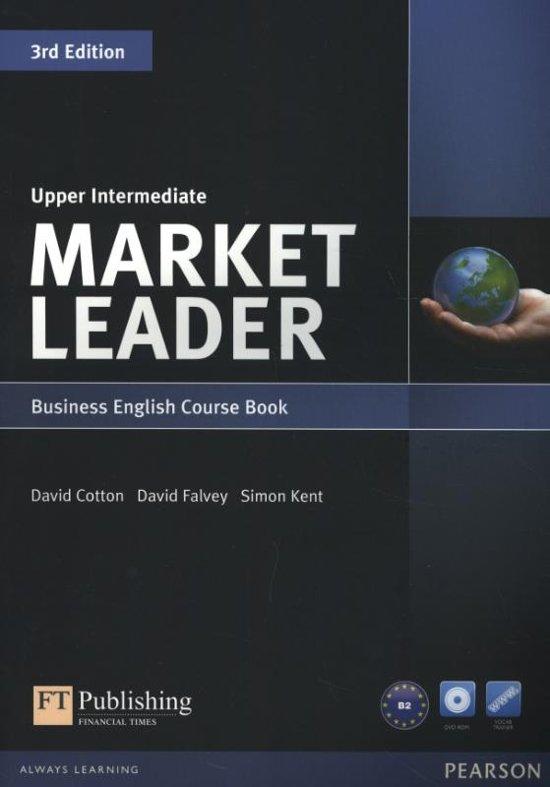 Market Leader 3rd Edition Upper Intermediate Coursebook & DVD-Rom Pack - David Cotton