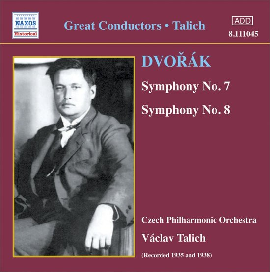 Dvorak: Symphonies 7 And 8 (Cz