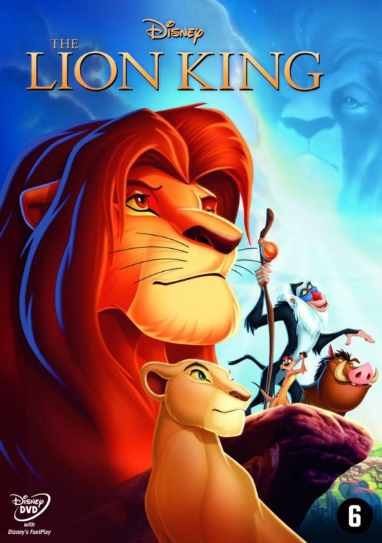 DVD cover van The Lion King