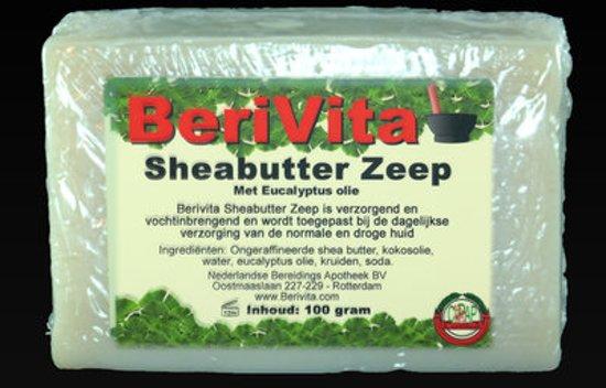 Eucalyptusolie met Shea Butter Zeep - 100gr